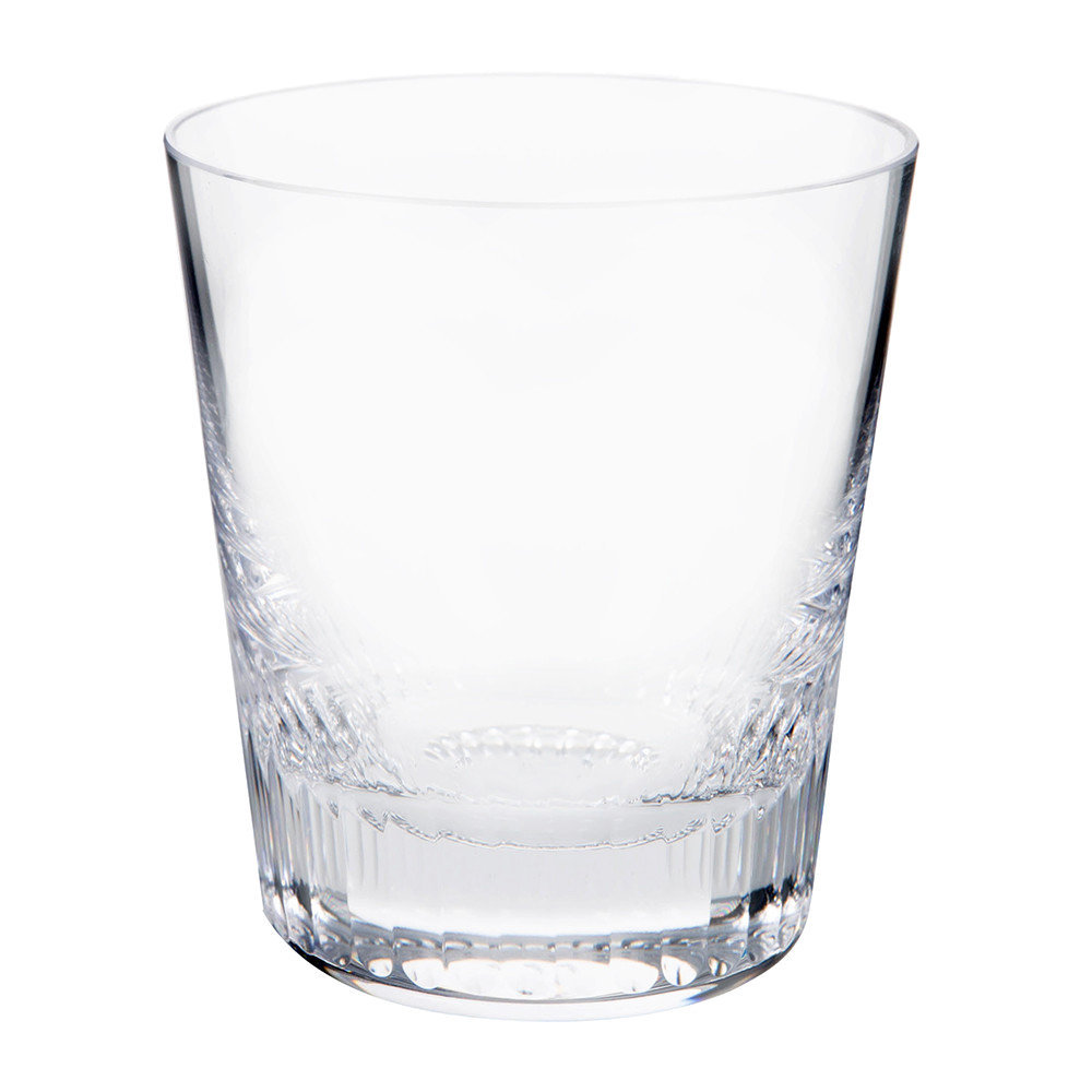 Moser - Conus Old Fashioned Tumbler - Cut - Clear