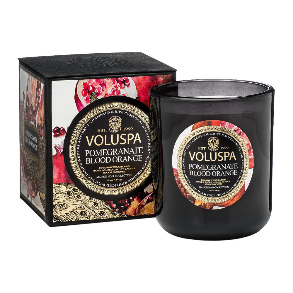 Voluspa - Maison Noir Candle - Pomegranate Blood Orange - 340g