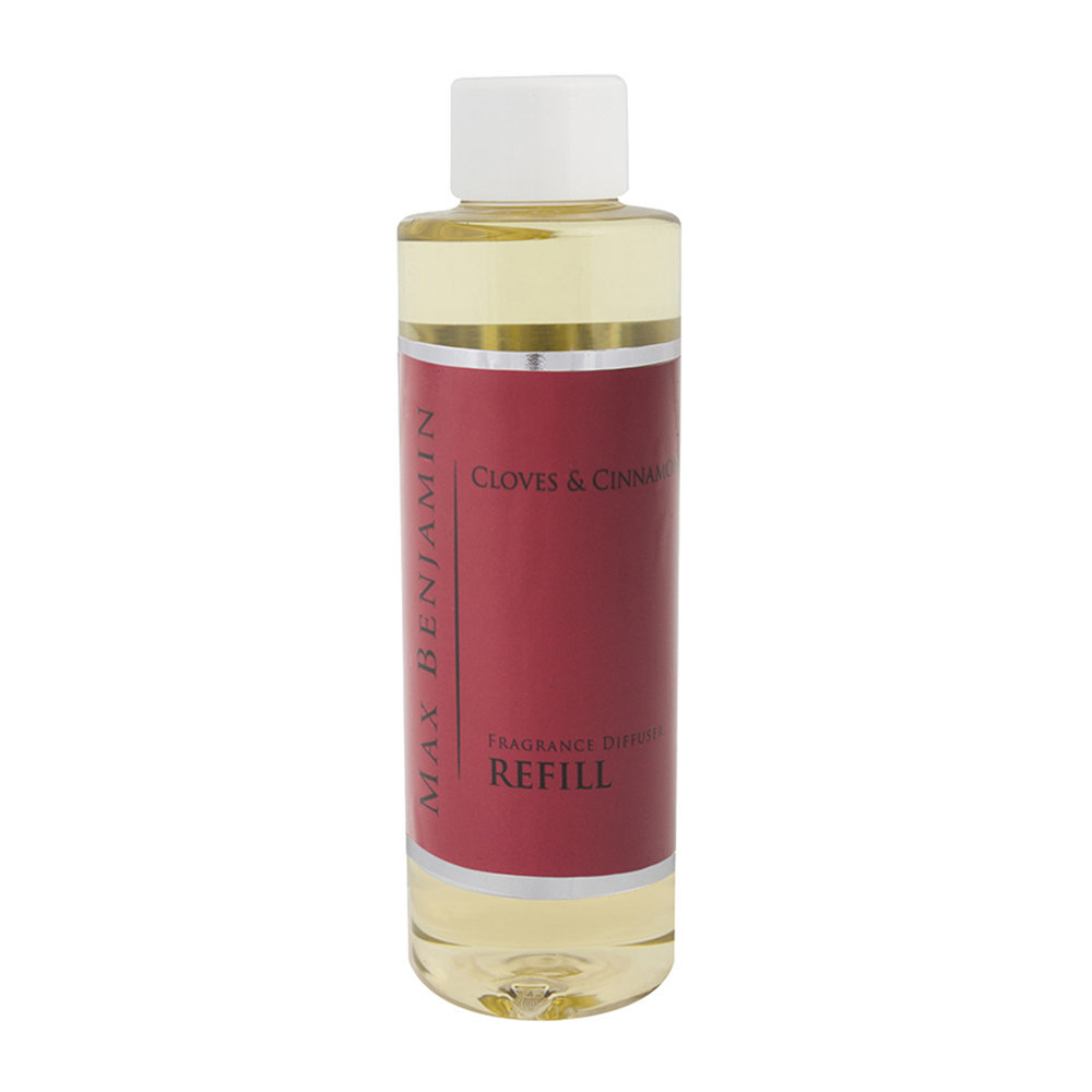 Max Benjamin - Classic Collection Reed Diffuser Refill - 150ml - Cloves & Cinnamon