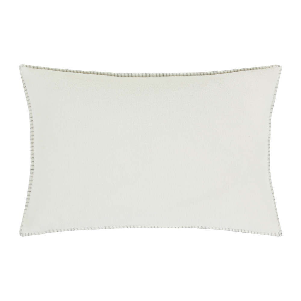 Zoeppritz since 1828  Soft Fleece Bed Pillow  30x50cm  Off White