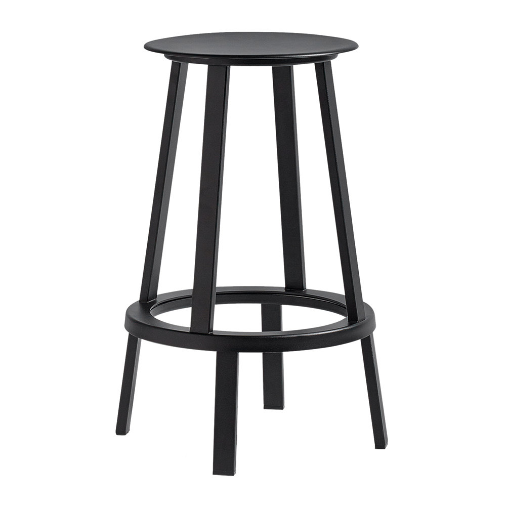 buy hay revolver stool black amara. Black Bedroom Furniture Sets. Home Design Ideas