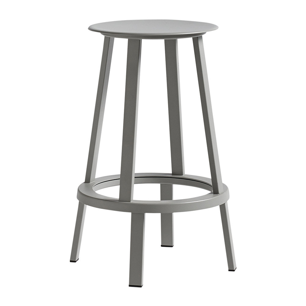 buy hay revolver stool grey amara. Black Bedroom Furniture Sets. Home Design Ideas