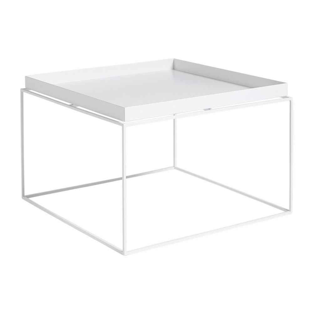 White Coffee Table Tray: Buy HAY Tray Coffee Table - White