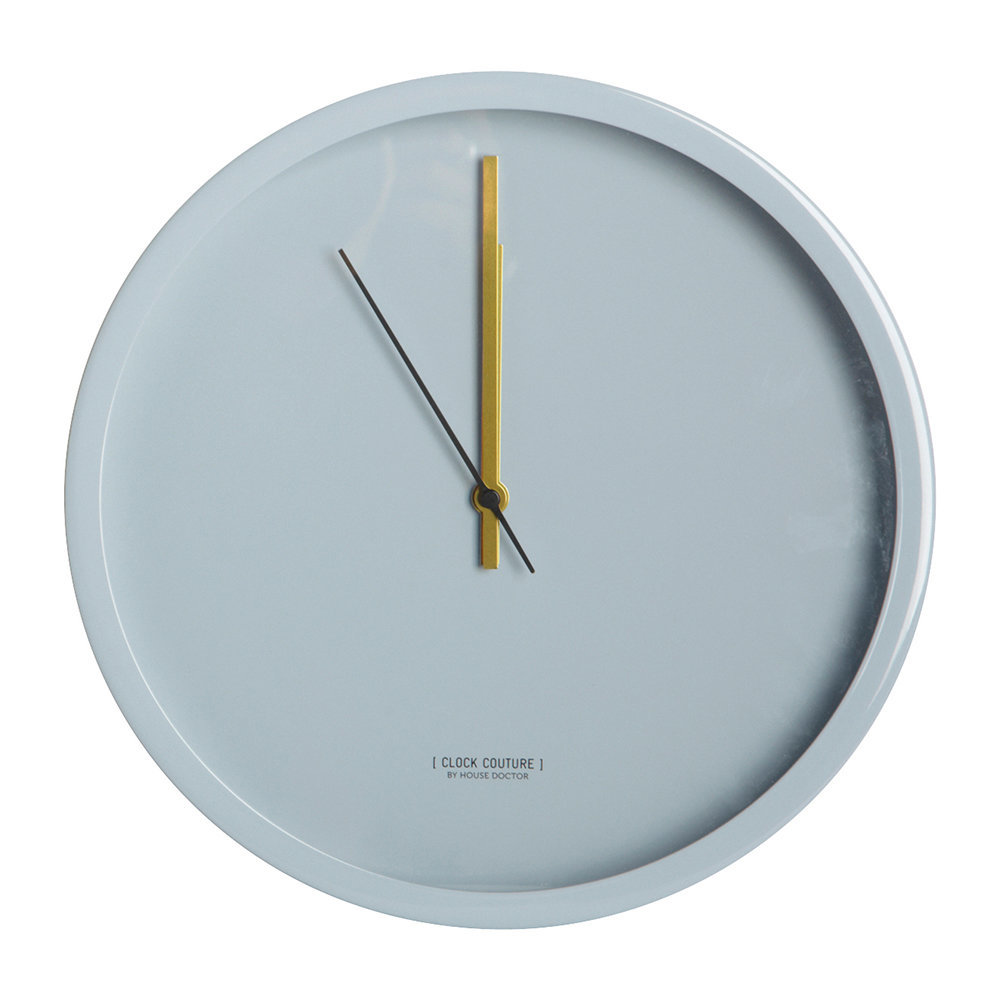 House Doctor - Wall Clock - Gray