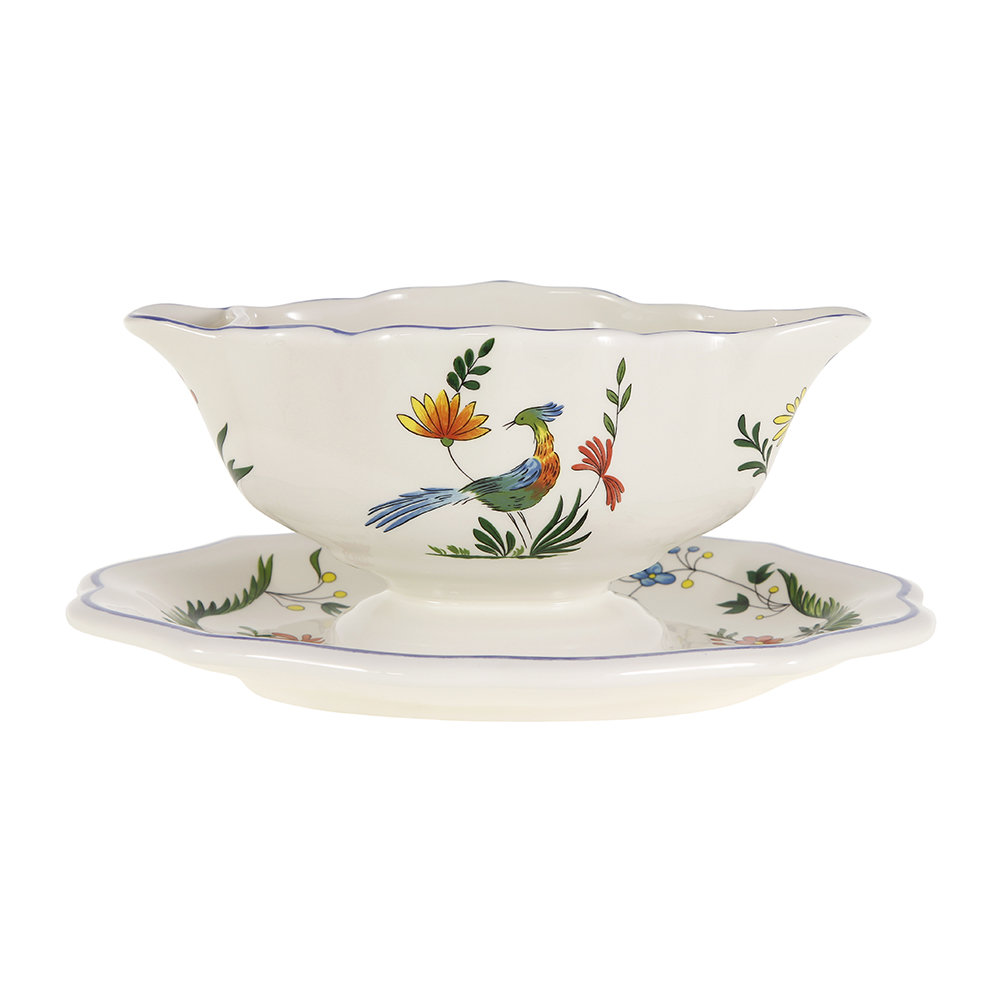 buy gien oiseaux de paradis gravy boat amara. Black Bedroom Furniture Sets. Home Design Ideas