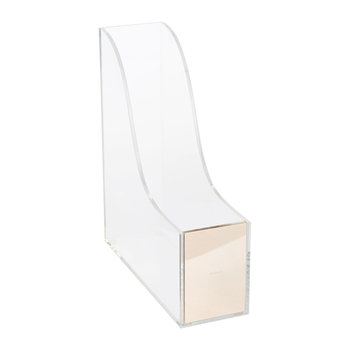 Acrylic Magazine Holder - Strike Gold