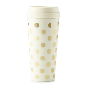 Thermal Mug - Gold Dots
