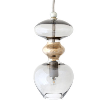 Futura Pendant Lamp - Smokey Grey