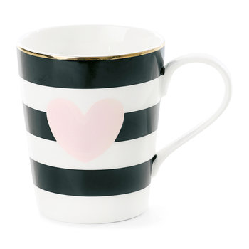 Rose Heart Ceramic Coffee Mug