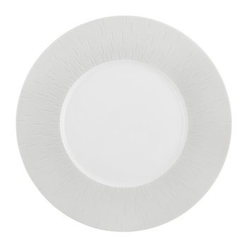 Infini Light Gray Dessert Plate