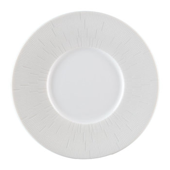 Infini Light Gray Bread & Butter Plate