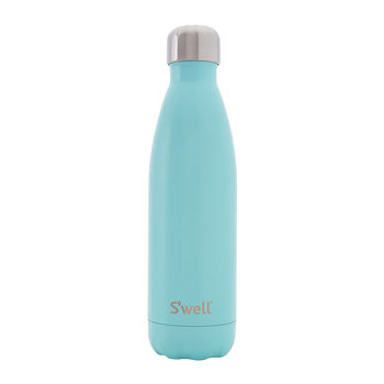 The Satin Bottle - Turquoise Blue 0.5L
