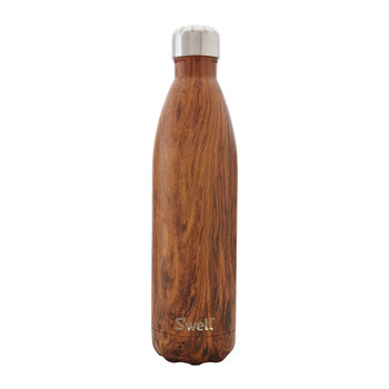 The Wood Flasche - Teakholz