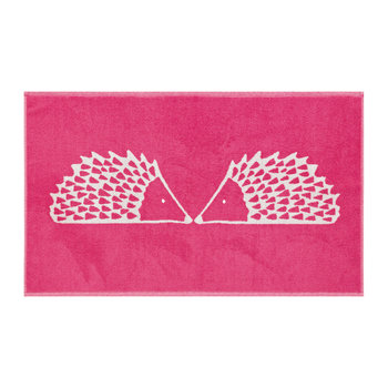 Spike Bath Mat - Pink