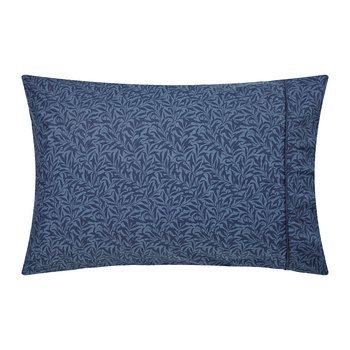 Strawberry Thief Pillowcase Housewife - Indigo
