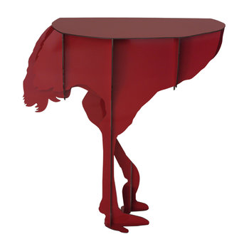 Mobilier de Compagnie - Ostrich Wall Console - Diva Red