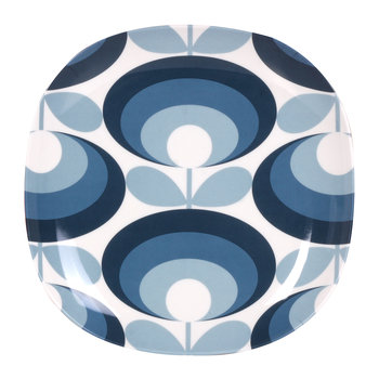 '70s Flower Blue Side Plate