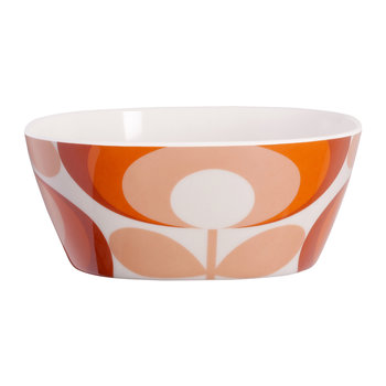 '70s Flower Red Small Bowl