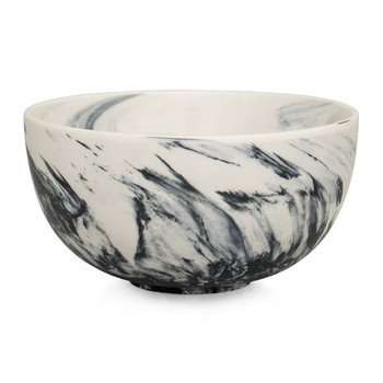 Marble Cereal Bowl - Gray
