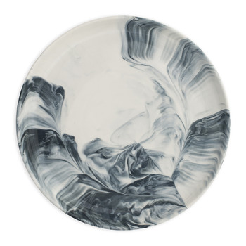 Marble Side Plate - Grey