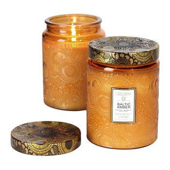 Japonica Limited Edition Glass Candle - Baltic Amber