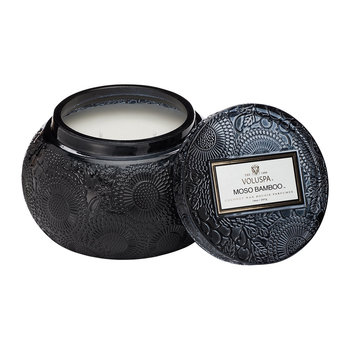 Japonica Embossed Glass Candle - Moso Bamboo - 397g