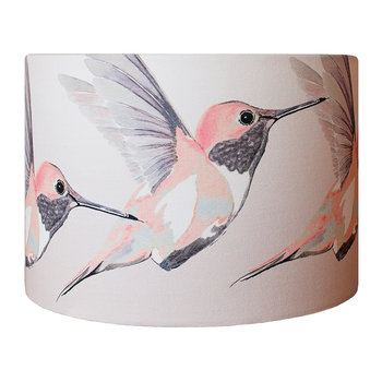 Rose Hummer Lamp Shade