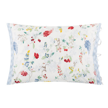 Hummingbirds Star White Pillowcase Pair
