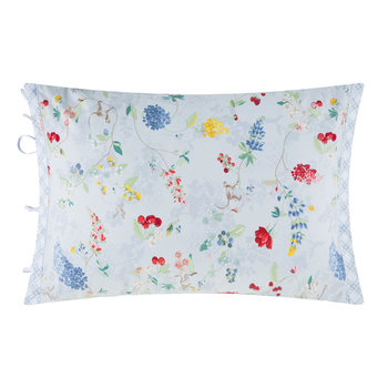 Hummingbirds Blue Pillowcase Pair