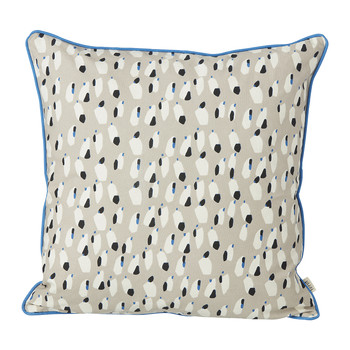 Spotted Pillow - 50x50cm - Gray