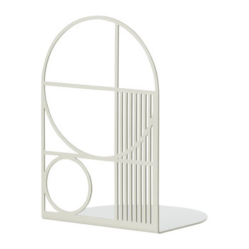 Outline Bookend - Gray