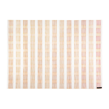 Stitch Rectangle Placemat - Coral