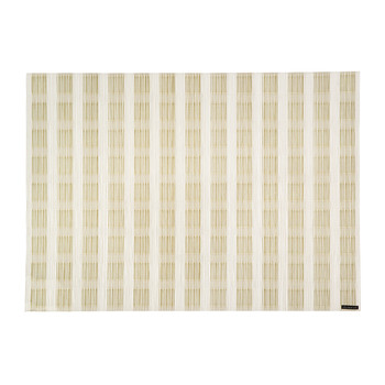 Stitch Rectangle Placemat - Gold