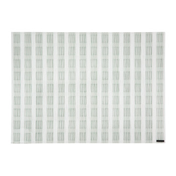 Stitch Rectangle Placemat - Jade