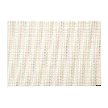 Wicker Rectangle Placemat - Sugar