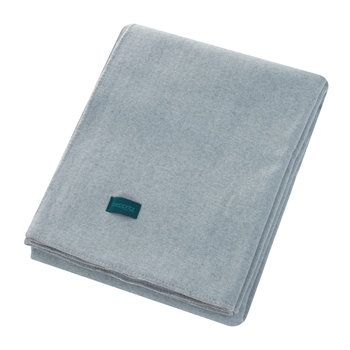 Soft Wool Blanket - Powder Blue