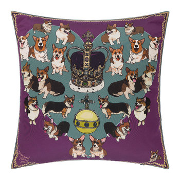 Your Majesty Pillow - 45x45cm