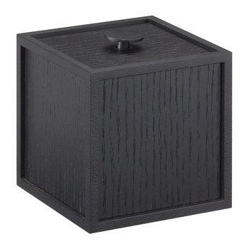 Frame Storage Box - Black Stained Ash