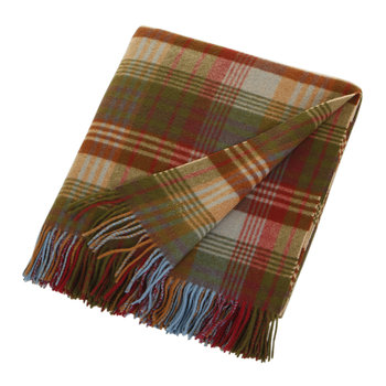 Ancient Tartan Lambswool Blanket - 155x180cm