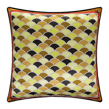 Lido Silk Bed Pillow - 60x60cm - Orange