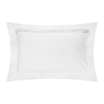 Mosaico 50x75cm Pillowcases - Set of 2 - Silver