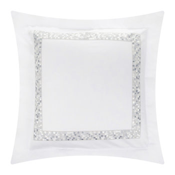 Mosaico 65x65cm Pillowcases - Set of 2 - Silver