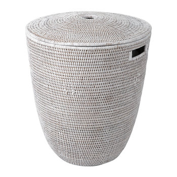 laundry basket white