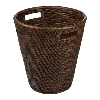 Trash Can - Teak
