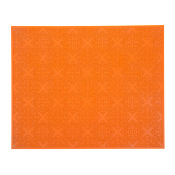 Rectangular Urban 01 Placemat - Carrot
