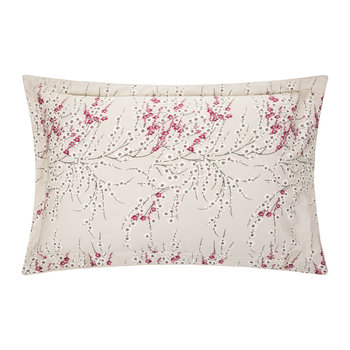 Morello Blossom Oxford Pillowcases - Set of 2 - Cherry