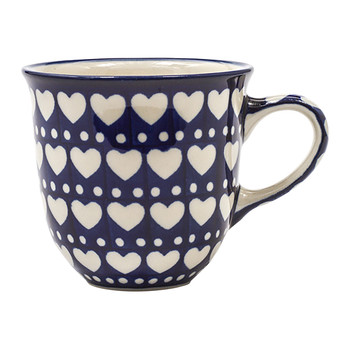 Curved Mug - Blue Valentine
