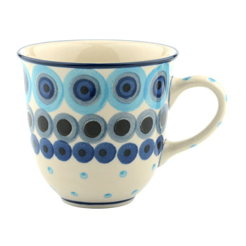 Curved Mug - Big Dots