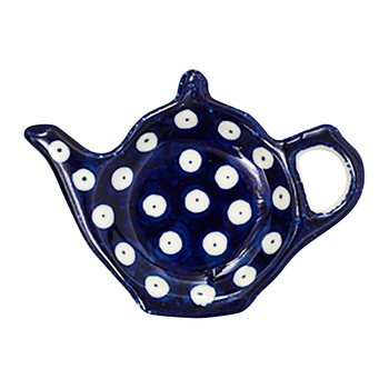 Teapot Teabag Dish - Blue Eyes