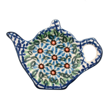 Teapot Teabag Dish - Meadow